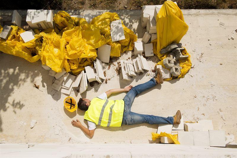 Wypadek w pracy – odszkodowanie